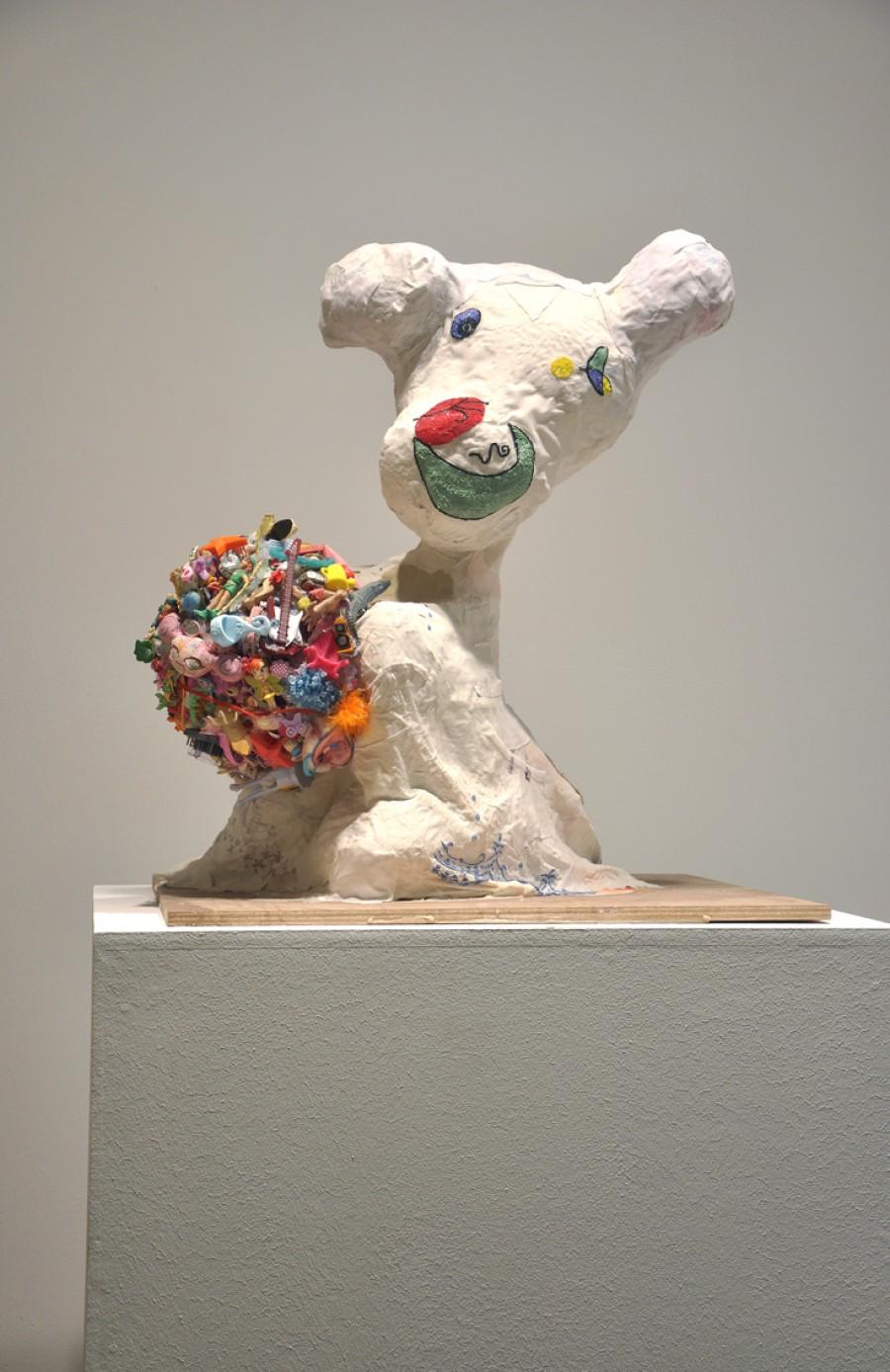 Fantasma de Miró con helado de rocky road
