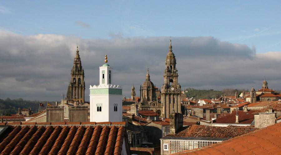 Alminar en Santiago