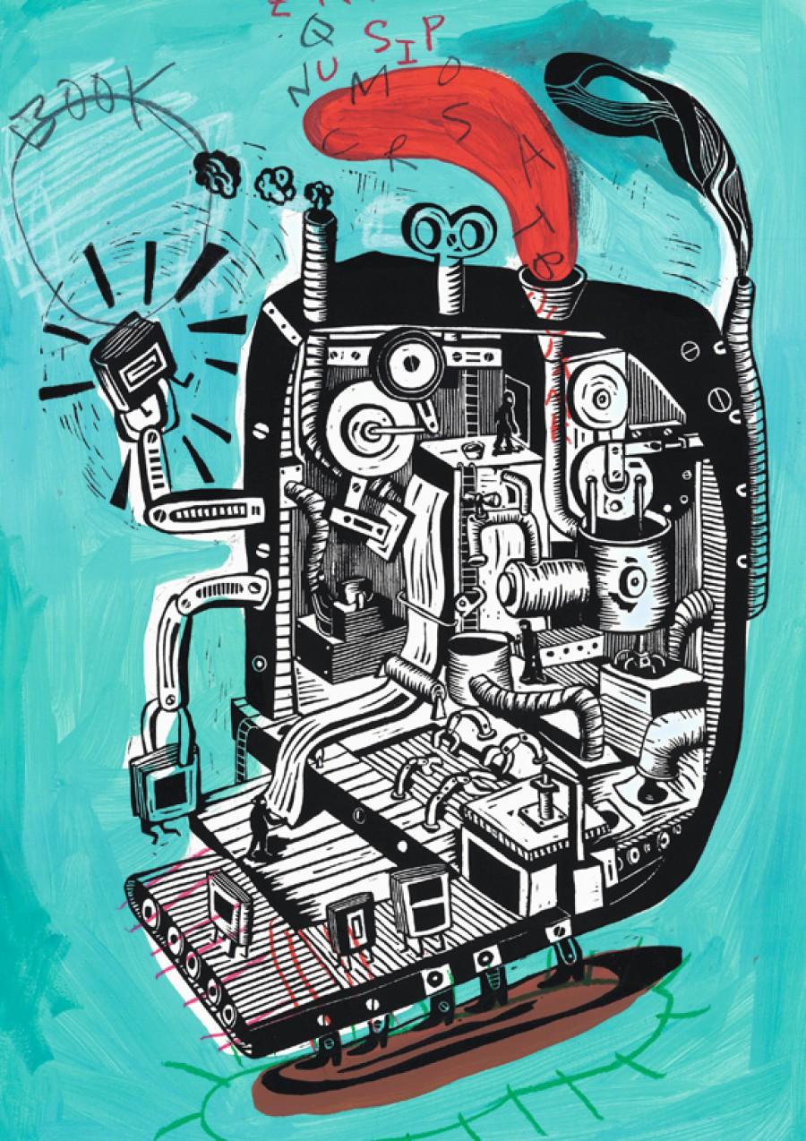 Fábrica de libros, de  Federico Fernández (Fredi)