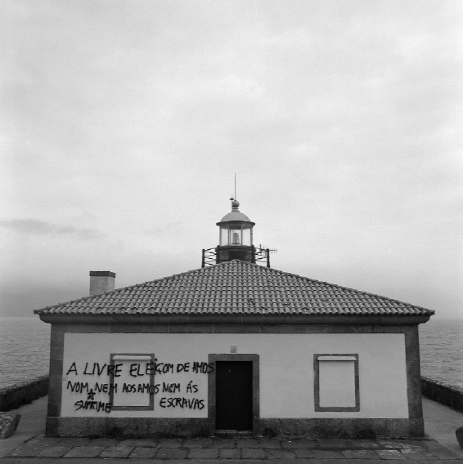 Punta Queixal. Louro (serie Faros)