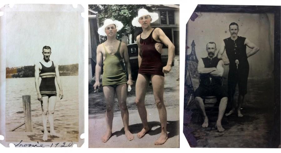 Bañistas. Fotografías atopadas, 1880-1963