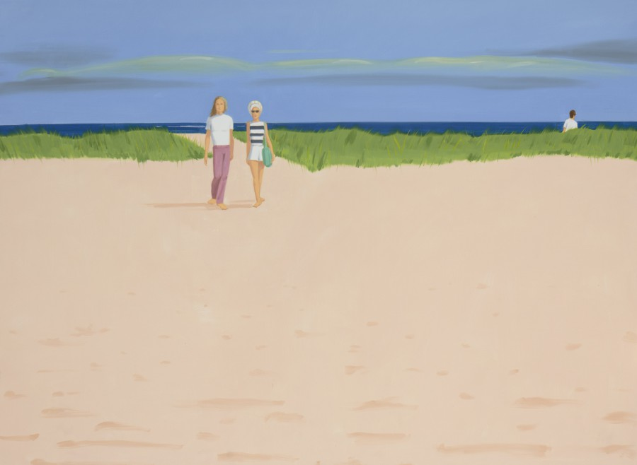 Alex Katz. Case nada
