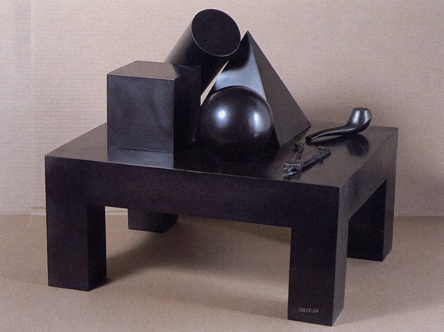 Homenaje a Walter Gropius o la mesa del geómetra, de  Luis Caruncho