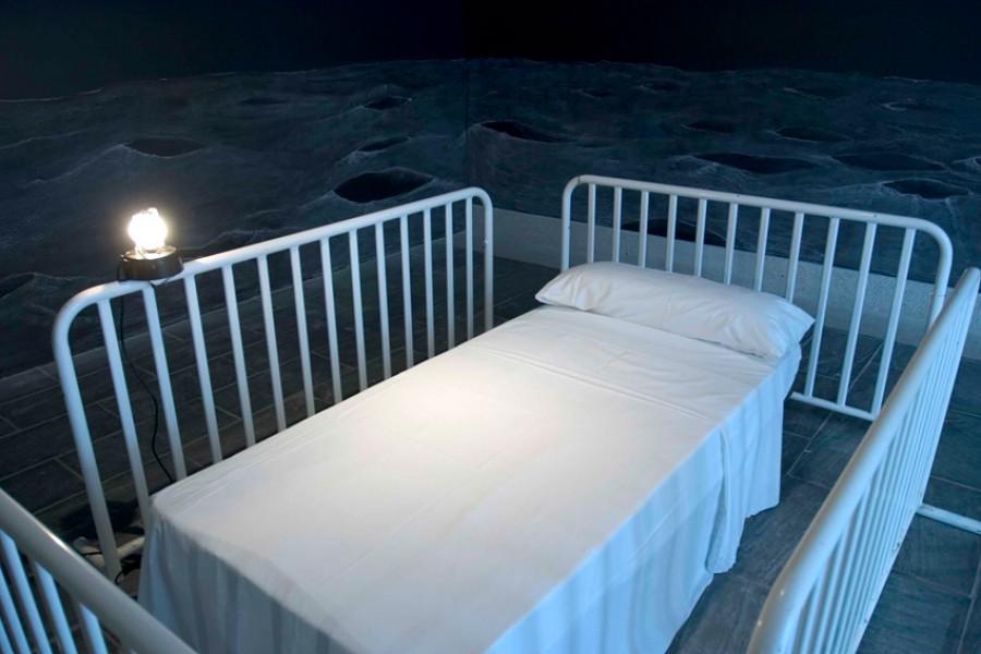 Instalación para cama individual