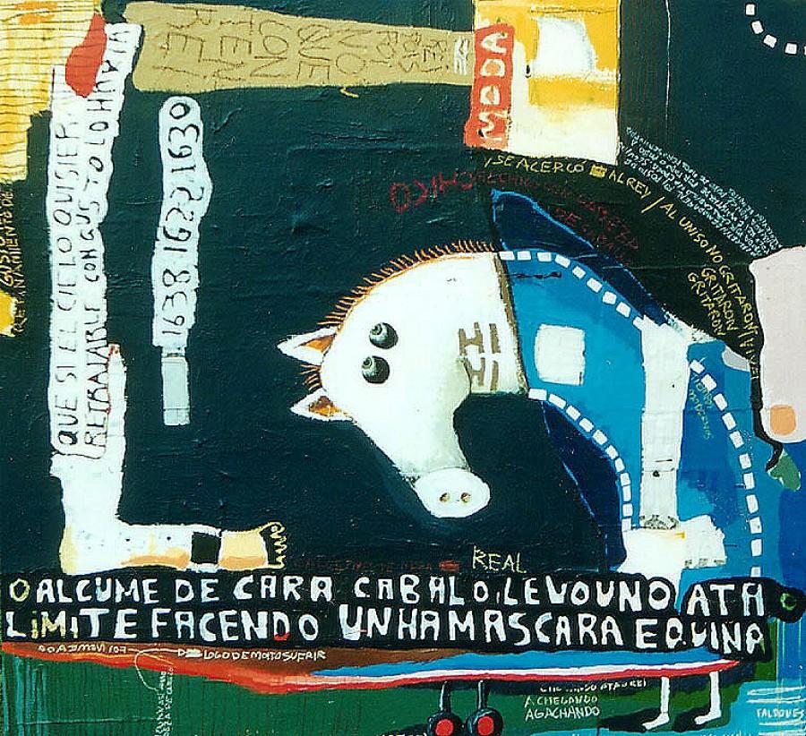Cara Cabalo, de  Federico Fernández (Fredi)