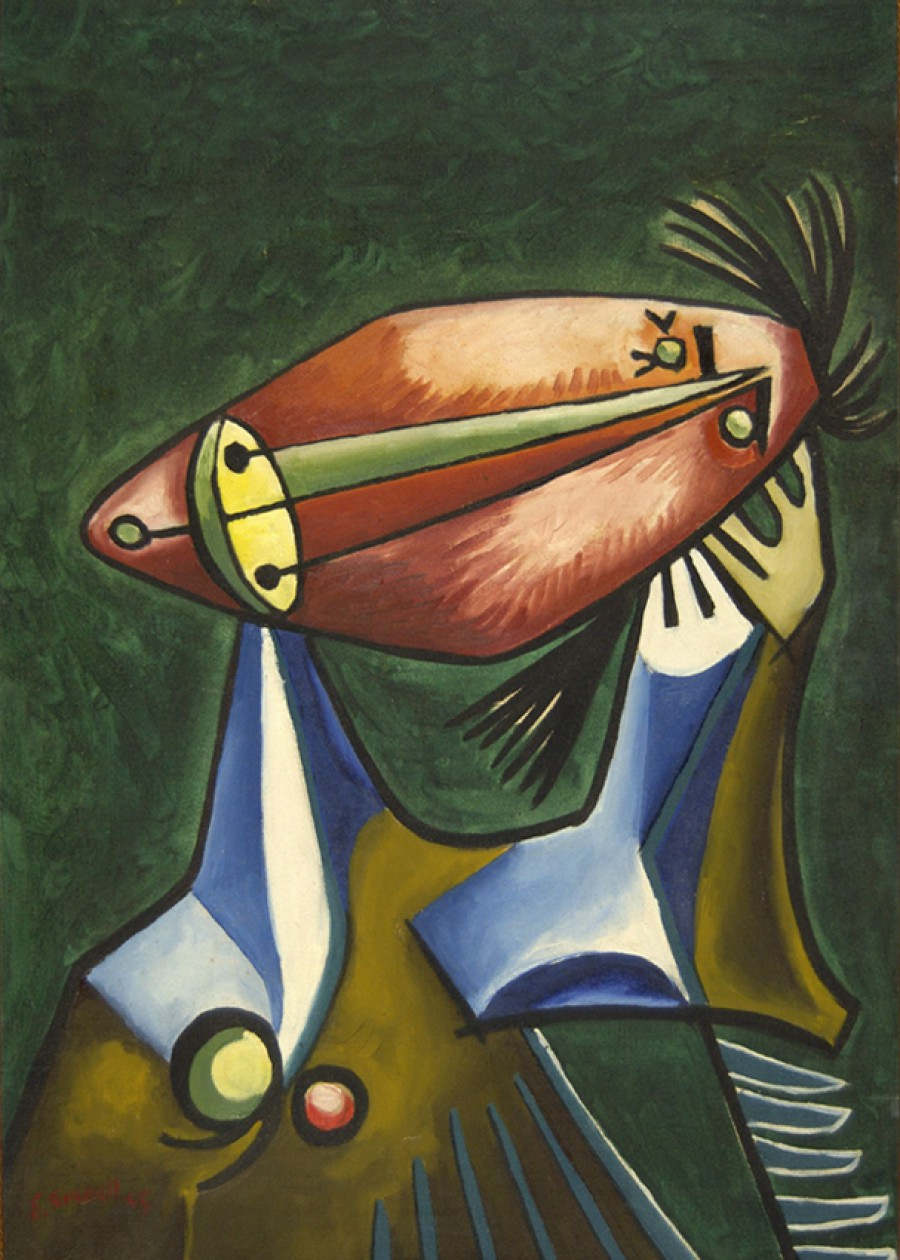 O espello do pintor. Eugenio Granell nas coleccións institucionais galegas