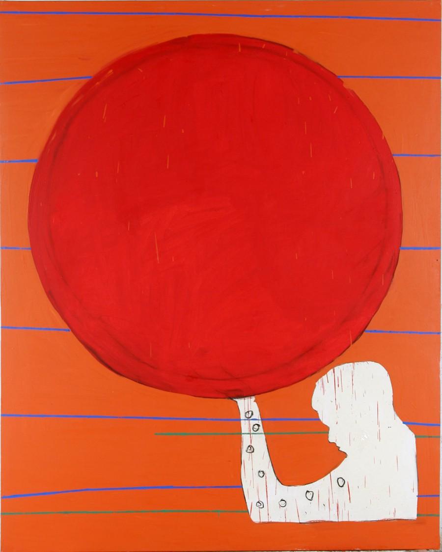 Círculo vermello