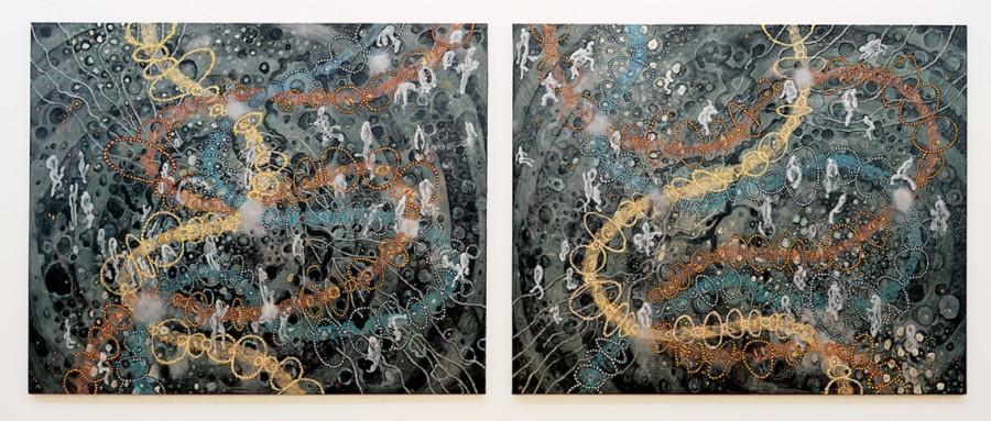 Vieiros da espiral do silencio, I e II