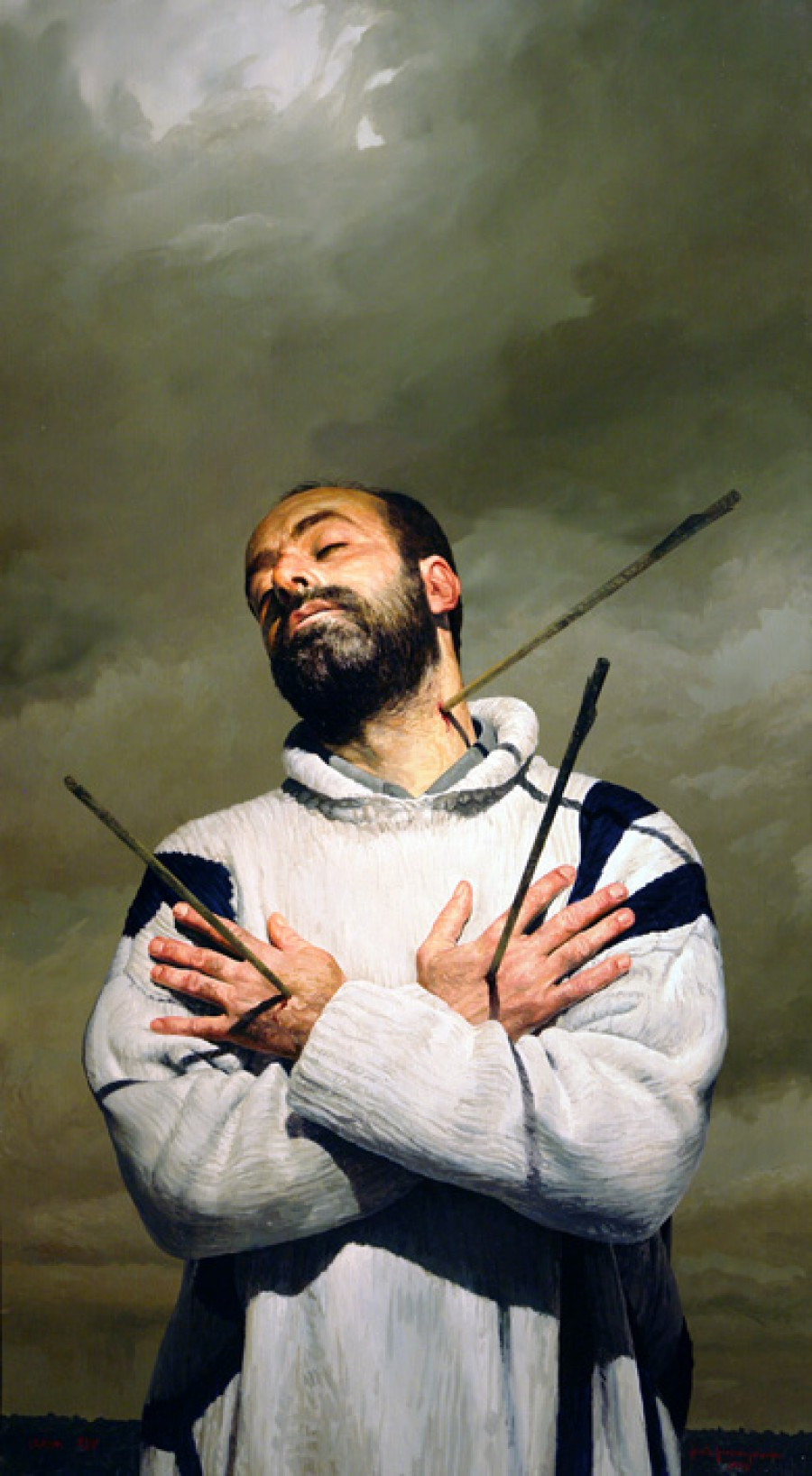 De amor y muerte. XIV, de  Roberto González Fernández