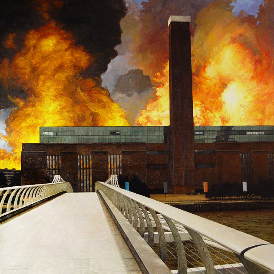 Confusión IV. Londres, de  Roberto González Fernández
