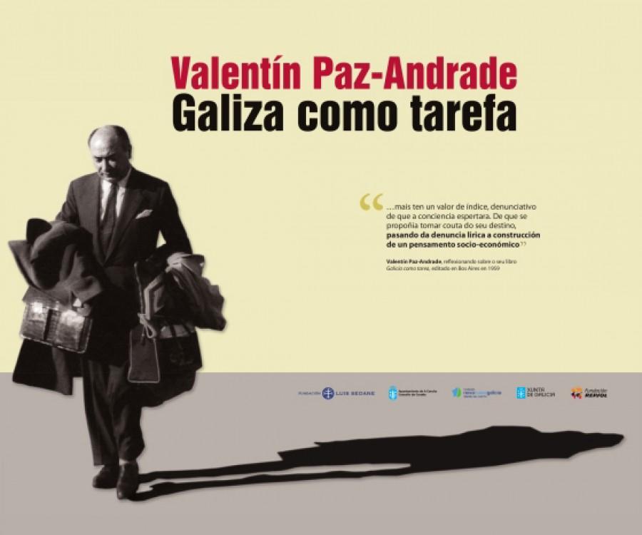 Valentín Paz-Andrade. Galiza como tarefa