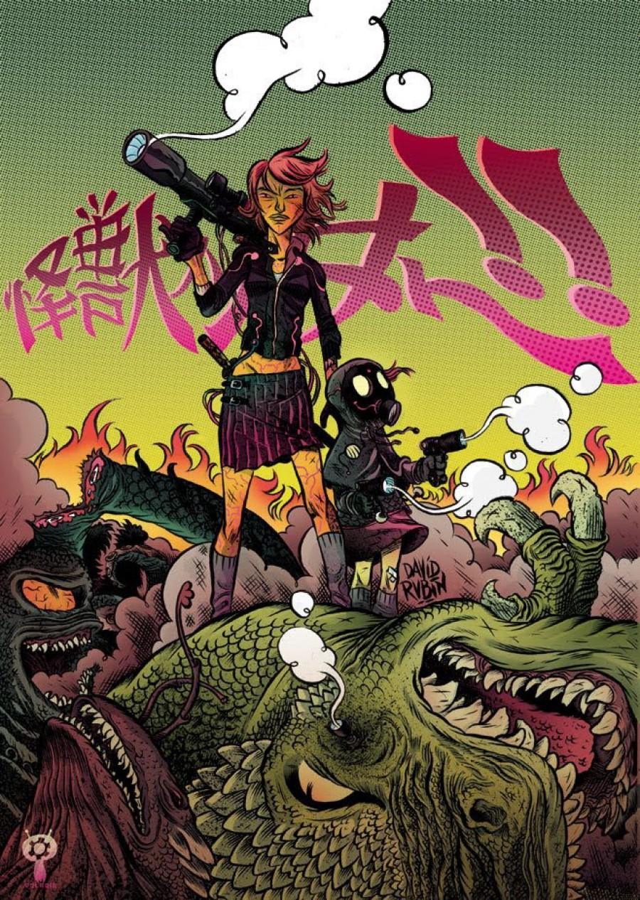 Cazadora de Monstruos (Polaqia), de  David Rubín