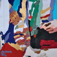 Peliqueiros (detalle), de  Chelo Matesanz