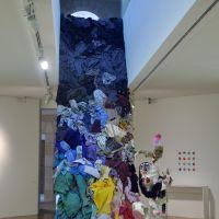 """Intervención no espazo. Exposición """"O bosquexo do mundo"""" (MARCO, Vigo), de  Chelo Matesanz"""