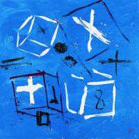 Dados azuis, de  Antón Patiño