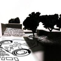 Estudio para Synchronized Landscape, de  Antón Cabaleiro