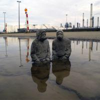 Picnic. Antwerpen. Belgium. 2011, de  Isaac Cordal
