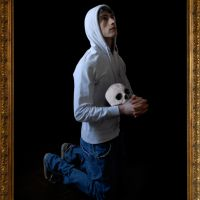 Artista implorando recoñecemento, de  Enrique Lista