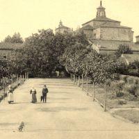 Imaxes históricas do sanatorio de Conxo