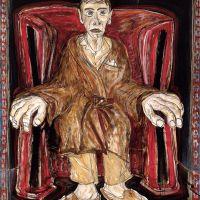 O Abó Gran Dida no sillón, de  Manuel Moldes
