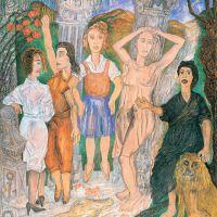 As mozas de Pontevedra, de  Manuel Moldes