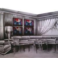 Nono Bandera. 500 m2 de lienzo y 300 kilos de pintura
