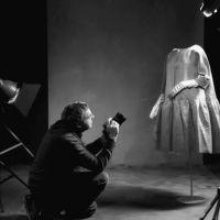 Mirar e pensar Balenciaga. Fotografías de Outomuro