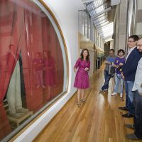 Jorge Perianes. Diálogos no Museo Provincial de Lugo (2)