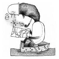 Sen título (Portada revista El Ciervo), de  Óscar Villán