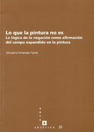 Almudena Fernández. Lo que la pintura no es