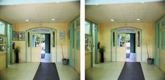Retirada temporal das orlas da Facultade BB.AA. Pontevedra