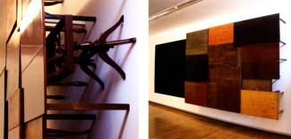Mesas e cadrado negro