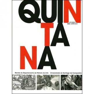 Quintana nº 9. Revista do Departamento de Historia da Arte. Universidade de Santiago