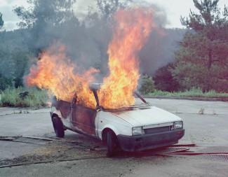 Still Life Nº IV. Car on Fire nº 1